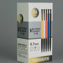 0,7 мм пуля классический креативный пластиковый пресс шариковая ручка масляная ручка шариковая ручка случайного цвета