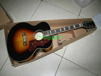 Sell like hot Sunburst 200 Acoustic Electric Guitar with FSM SUNBURST High Quality