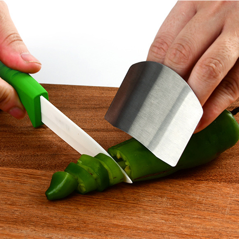 Kitchen Gadgets Security Design Food Knife Cut Vegetable Palm Rest Anti-cut Finger Protector Hand Guard Home Cutting Supply 1pc