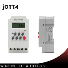 Timer Switch 24 Hours 220V LCD Digital Programmable Mini Timer Microcomputer Time Switch 28 sets of seconds control to seconds цена и фото