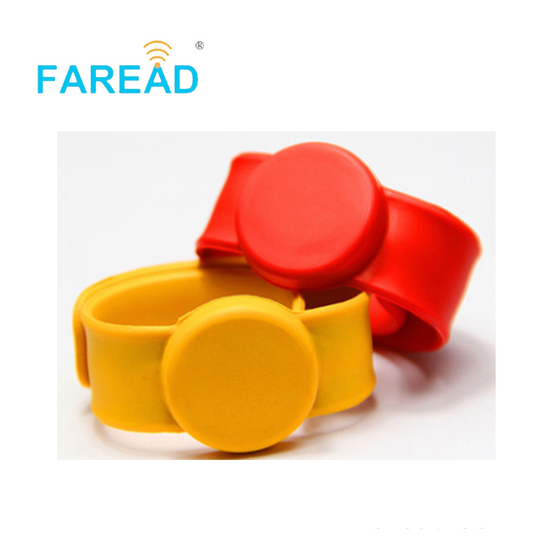 X100pcs Free Shipping RFID Wristband 13.56MHz I-CODE -2 For  Theme Park, Ticket System And Harsh Environment