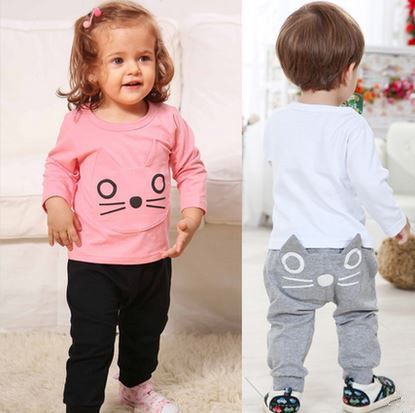 Baby Boy & Girl Long Sleeve Shirt