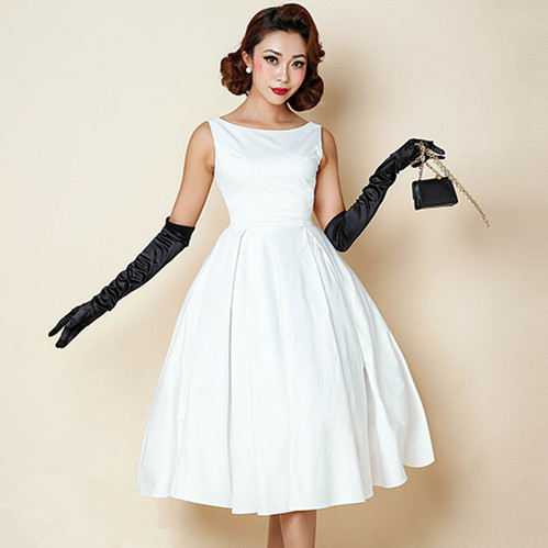 Compare Prices on Pin up Vintage 1950s Swing Dress Plus Size ...