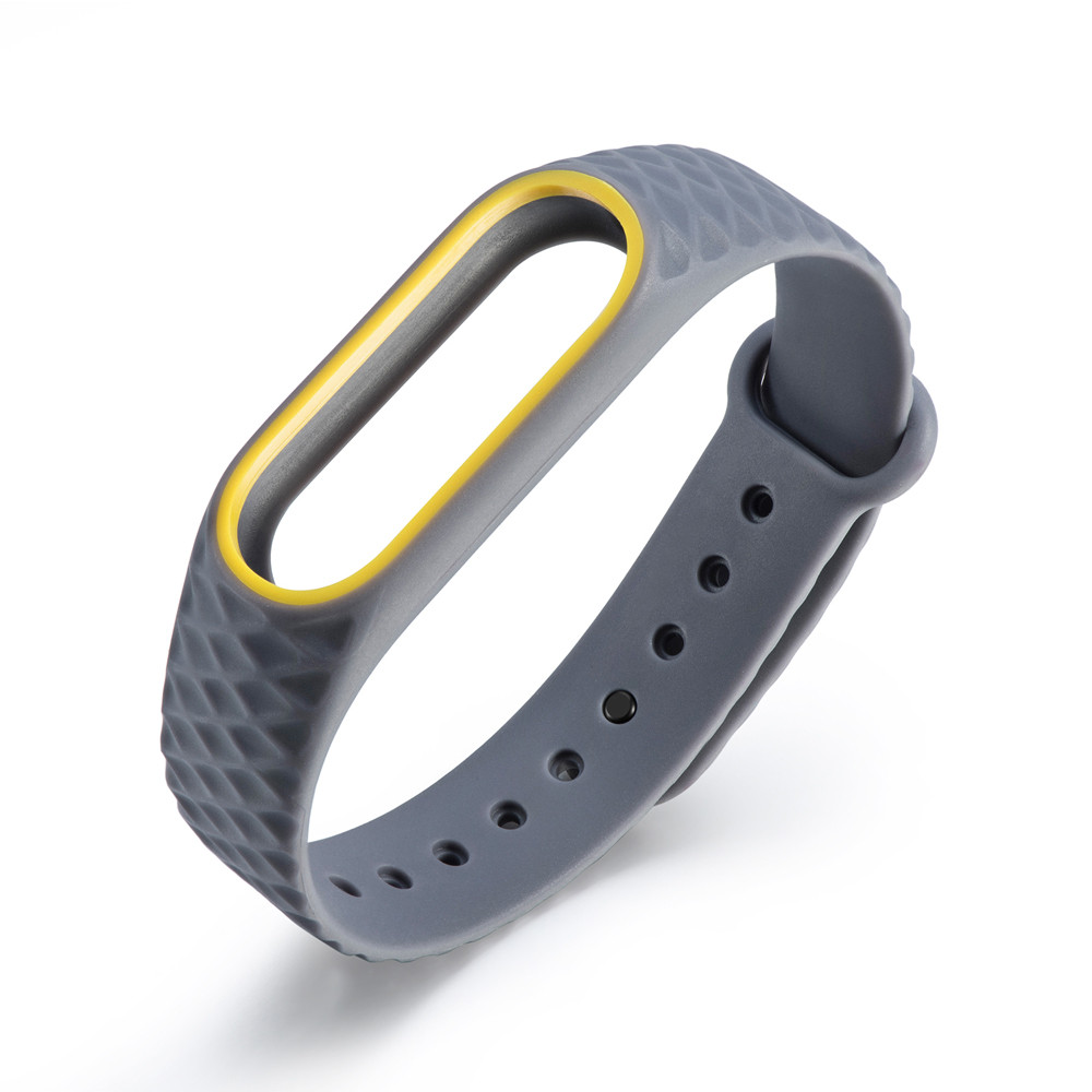 Silicone Watch Replacement Rubber  Watch Bracelet Band Wrist Strap Loop For Xiaomi Mi Band 2 Professional 6J12 Drop Shipping