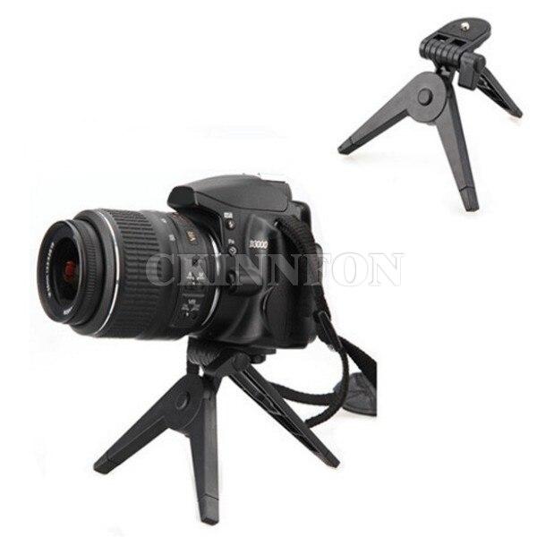 DHL 100PCS Portable Folding Tripod Stand for Canon Nikon Cameras DV Camcorders