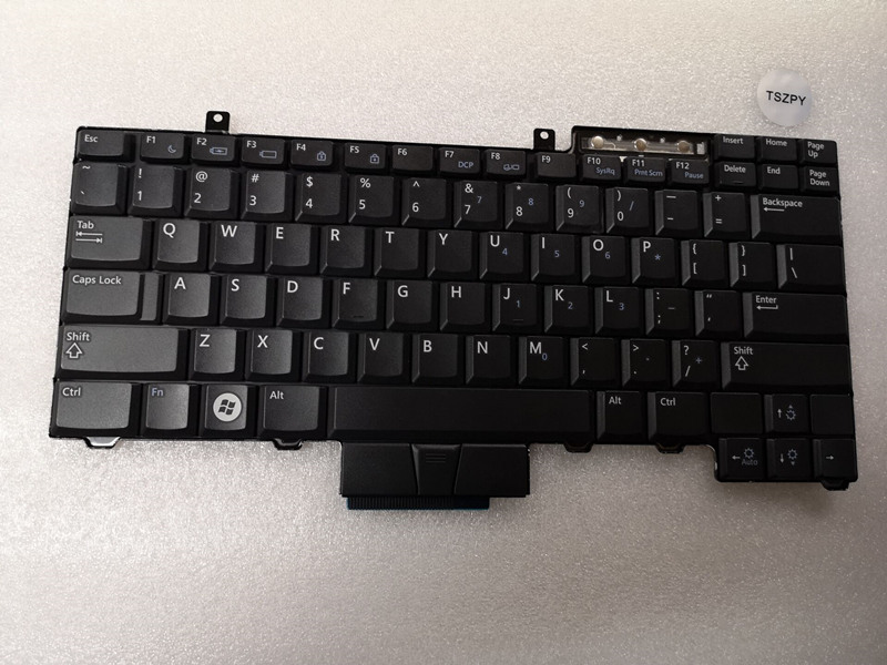 FOR DELL E6400 E6410 E6500 M2400 M4500 PP27L E6510 M4400 Keyboard HT514 0HT514 image