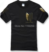 Attack on Titan Golden symbol T-Shirts (2 colors)