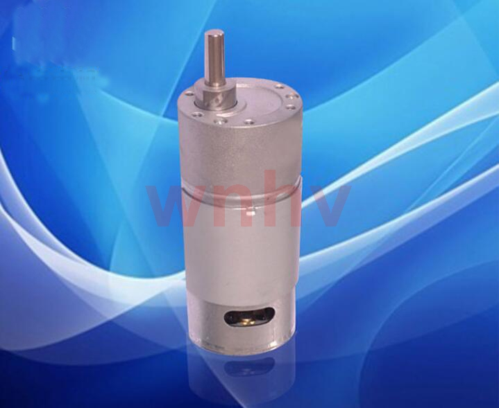 600 RPM DC 12V მაღალი ბრუნვის გადაცემათა კოლოფი ელექტრო სიჩქარე ამცირებს სატანკო საავტომობილო შენელებას ძრავის დისტანციური მართვის მანქანის უფასო გადაზიდვაში