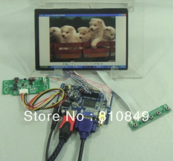 HDMI+VGA+2AV LCD Control board+7inch 1280*800 N070ICG-L21 IPS Lcd panel ноутбук dell vostro 5468 5468 1090 5468 1090