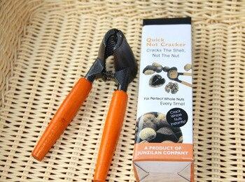Funnel shaped nut walnuts cracker sheller nut opener clip  Cracker Nutcracker Plier Sheller Crack almond Kitchen Clip Tool Щипцы
