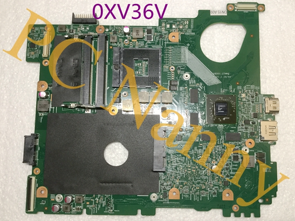 0XV36V CN-0XV36V XV36V For Dell Vostro 3550 System Motherboard HM67 DDR3 w AMD Radeon HD 6630M 1GB Graphics