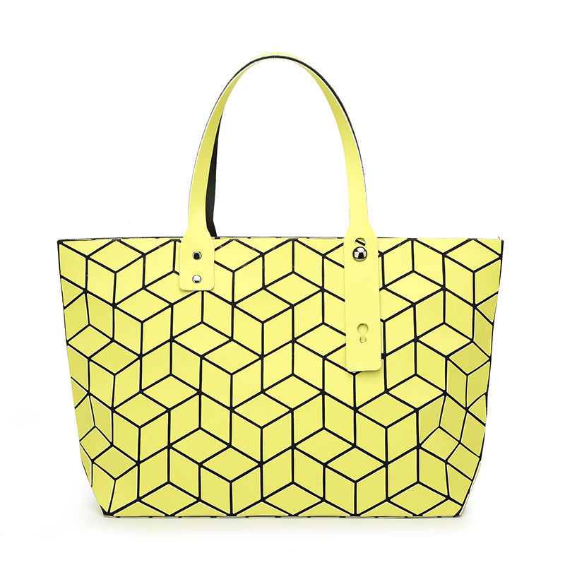 Women Bao Bao Bags Geometry Quilted Baobao Handbag Female Geometric Casual Tote Lady Shoulder Bag Fashion Diamond Top-Handle Bag 2015 hot fashion top top quality same as baobao 1 1 women s lattice geometry quilted handbag geometric mosaic totes bag6 6