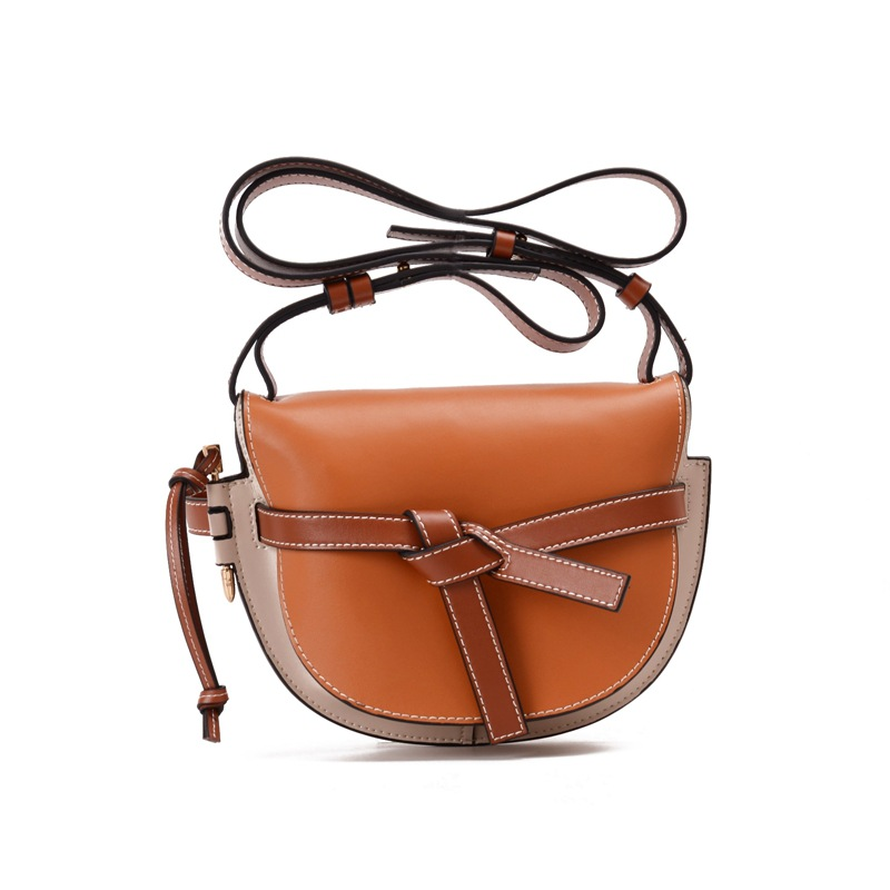 2018 New Fashion Women Handbags Genuine Leather Bow Patchwork Cow Leather Bag Lady Shoulder Crossbody Messenger Bags Saddle 2018 new fashion women handbags genuine leather bow patchwork cow leather bag lady shoulder crossbody messenger bags saddle
