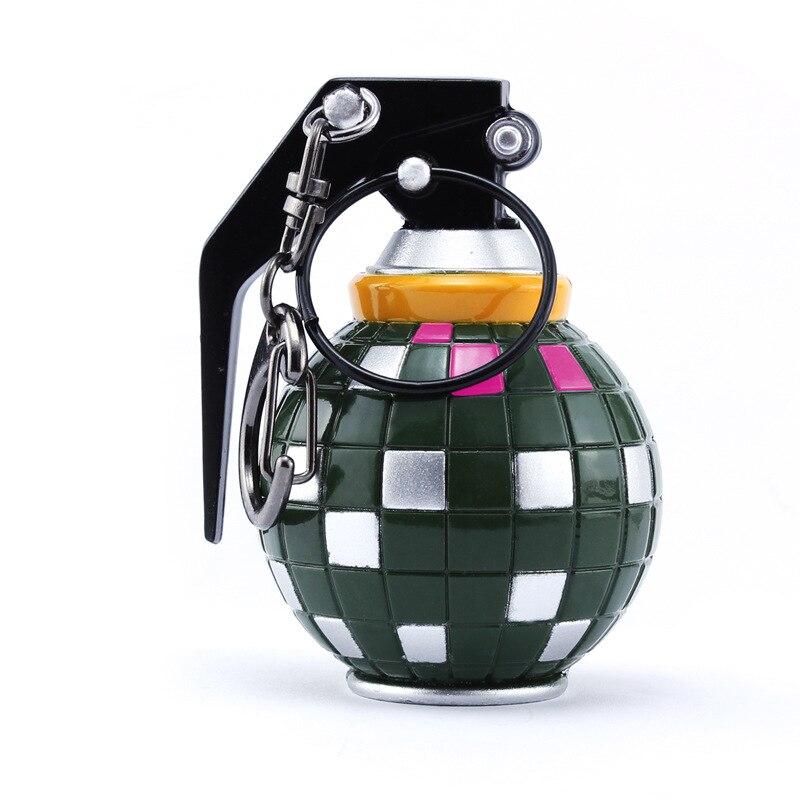 PUBG Spiel Boogie Bombe Modelle Auto Keychain spielzeug für jungen PUBG Schlacht Royal Bombe Schlüsselring Kette Party Zubehör spielzeug für erwachsene