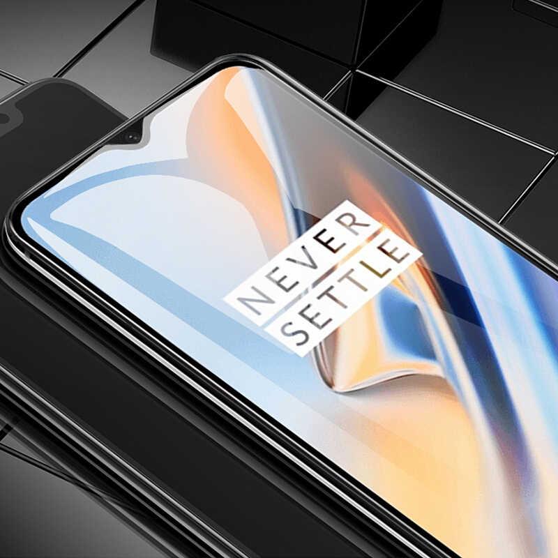 3D Vetro Temperato Per Oneplus 6 t 5 t 3 t Copertura Completa 9 H pellicola Protettiva Protezione Dello Schermo Temperato vetro Per Oneplus 5 3 6 6 t Pellicola