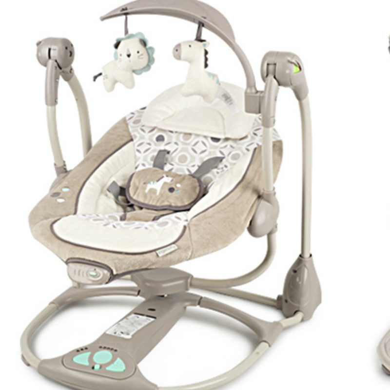 Baby electric cradle rocking chair c w music for Chair network golf