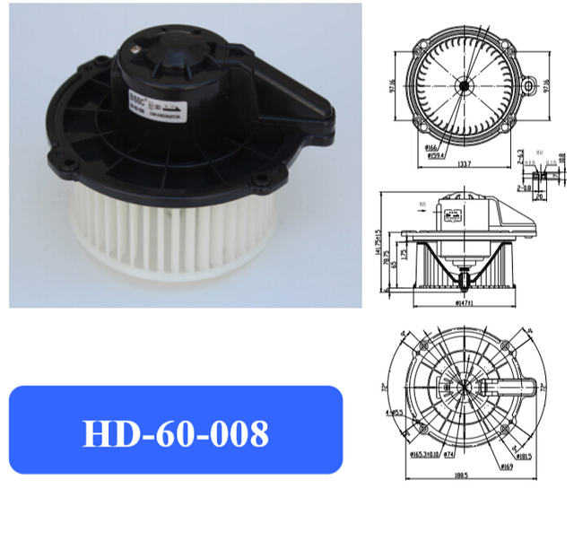 Automotive air conditioning blower motor,Electronic fan motor,frontier blower motor Suitable for Japanese car