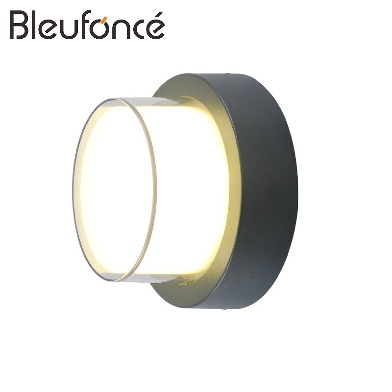 Outdoor Waterproof Wall Lamp IP65 12W LED Wall Light Indoor Decoration wall Sconce Bedroom Lamp Corridor Garden Lights Lamp BL90 outdoor waterproof wall lamp indoor wall light led wall sconce porch garden lights decoration 10w led wall lamp 110v 220v bl56