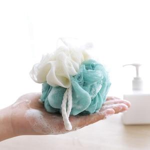 Image 5 - 1 Set de baño de esponja bola bañeras depurador ducha cuerpo Limpieza de malla de ducha rico burbujas cuerpo esponja masaje ducha depurador esponja banho esponja de banho escova de banho cepillo de baño