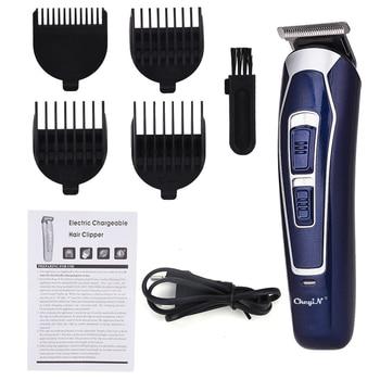 Electric Hair Clipper Rechargeable Low Noise Hair Trimmer Hair Cutting Machine Beard Shaver Trimer For Men Barber Hair Shaving