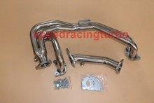For Turbo Exhaust Manifold Header Subaru Impreza WRX STi 2.0L EJ20 EJ25 02-07