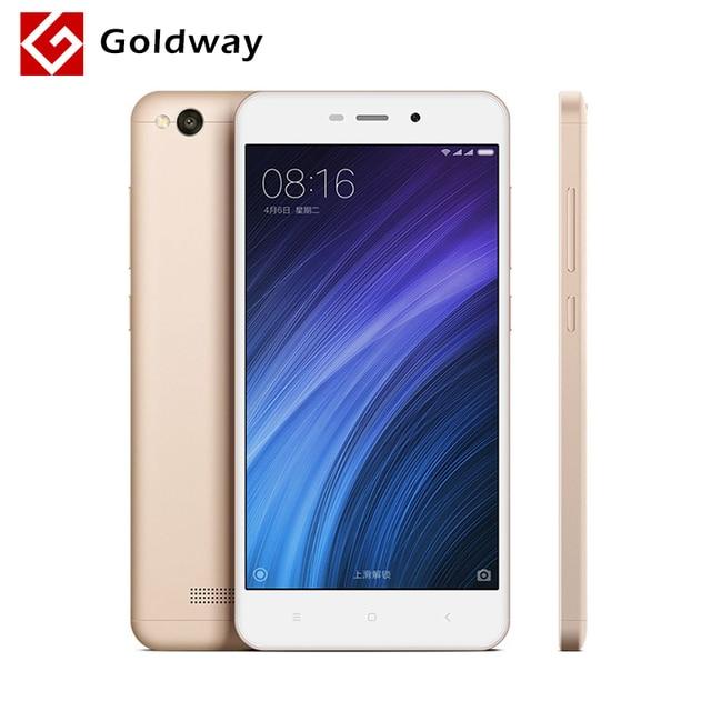 """Оригинальный Xiaomi Redmi 4A 2 ГБ Оперативная память 16 ГБ Встроенная память 5.0 """"4 г FDD LTE Snapdragon 425 4 ядра Mobile телефон 3120 мАч Батарея 13.0MP Камера"""