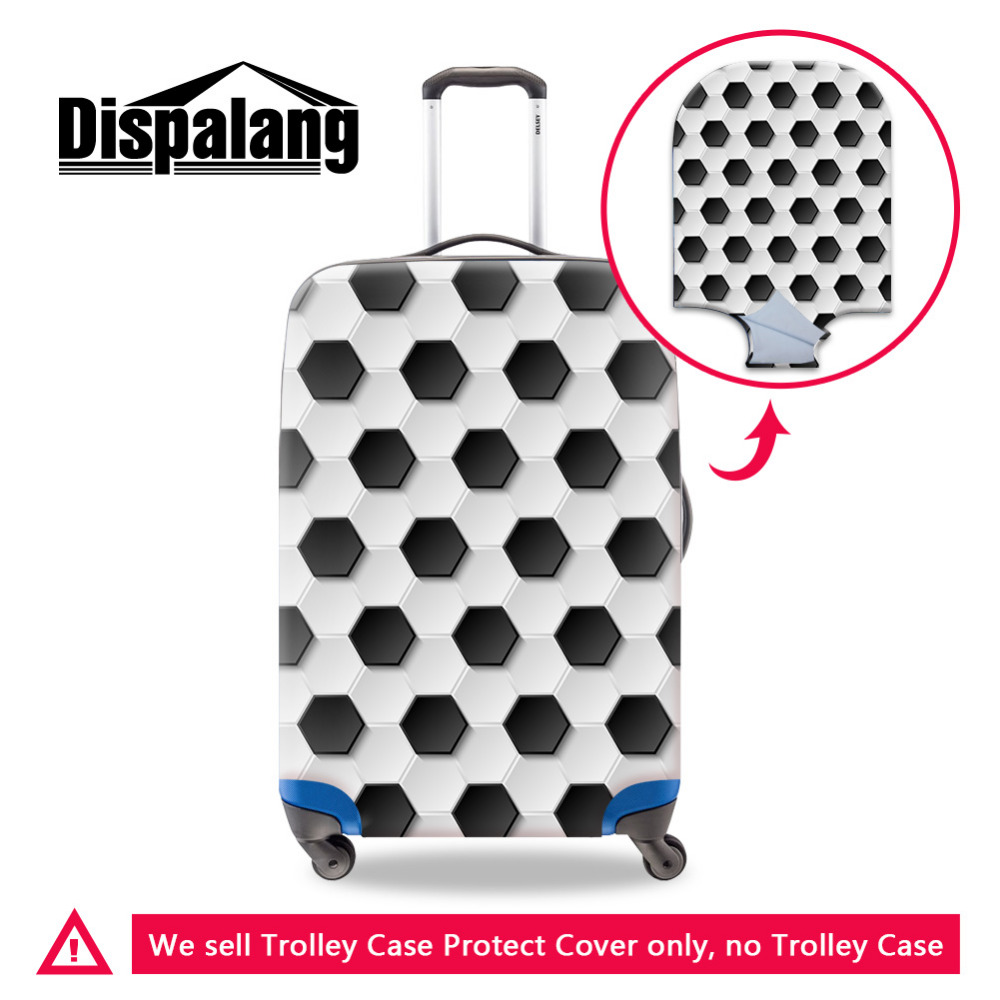Dispalang Hexagon Luggage Cover For 18 20 22 26 28 30 Inch Travel Trolley Cases Suitcase Case Protective Cover S/M/L 3 Size