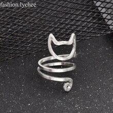 Cat Wrap Ring Girl
