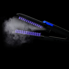 Professional Steam flat iron hair straightener fast 100-240v electric straightening Ceramic plate EU/ US/ UK Plug