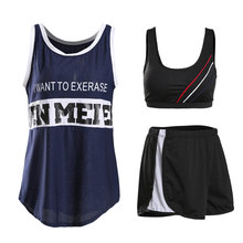d904f626d8a20 LYSEACIA Breathable Sports Clothing Women Hollow Fitness Yoga Sets Letters  Printed