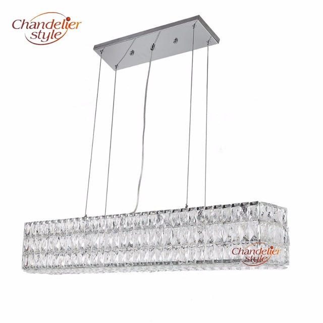 linear crystal chandelier. Modern Linear Crystal Chandelier Lamp Light Lighting Luxury Chandeliers Hanging Fixtures For Home Restaurant Dining Room L