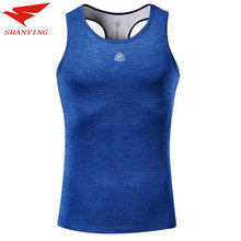 3f7df2f5 2018 Quick Dry Logo Custom Running Vest Training Sleeveless Man's T-Shirt  Workout Sport Suit Fitness Tights Gym Men Tank Top