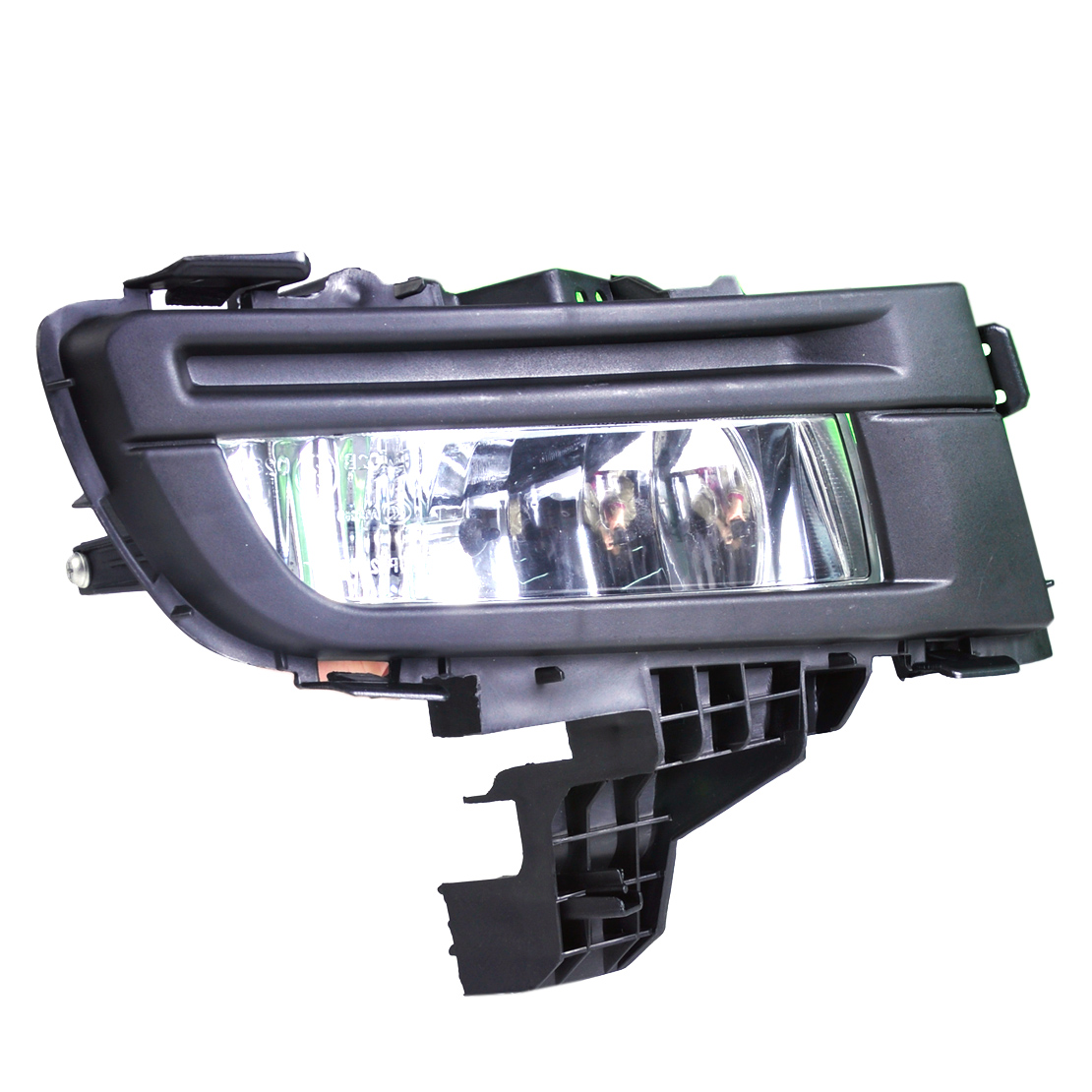 DWCX High Quality ABS 12V 51W Front Right Side Black Fog Light Lamp 9006 Replacement for <font><b>Mazda</b></font> <font><b>3</b></font> <font><b>2007</b></font> 2008 2009 Car <font><b>Accessories</b></font> image