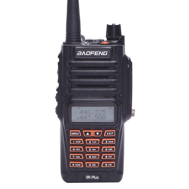 Baofeng uv-9r plus ip67 waterproof walkie talkie 8w 10km long range powerful 8 watts cb radio vhf/uhf portable ham uv9r hunting