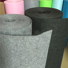 High Quality 3mm Felt Fabric Non-woven Cloth Sewing Patchwork DIY for Handmade Bag Materials Halberd Gray feltro Fabric by yard