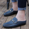 Men casual  shoes genuine  Leather 2016 Spring/Summer flat shoes rubber soft Shoes Breathable Male FootwearComfort Loafers