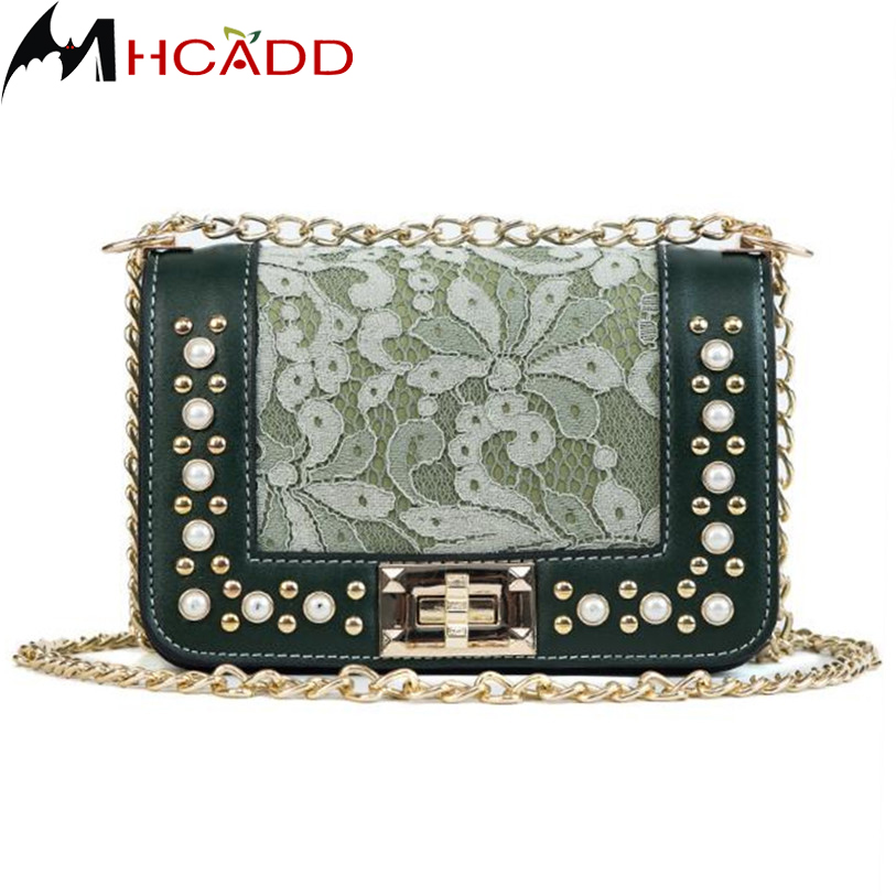 MHCADD New Fashion Women Designer Handbags Chain Strap Flap Casual Clutch Layer Ladies E ...