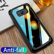 360 Degrees Full Shockproof Case For Samsung Galaxy S8 S9 Plus Luxury Hard PC+TPU Cover Note 9 Coque Capas