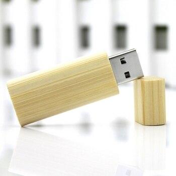 High Speed Pen Drive Wooden Bamboo Gift Usb Stick 8GB 16G 32GB 64GB USB 3.0 Flash Memory Flash Drive  128GB 512GB Pendrive 1TB