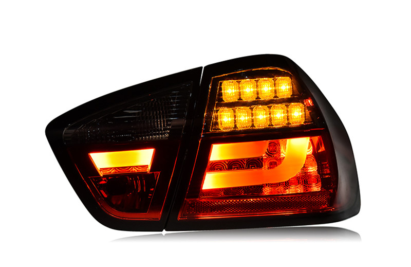 VLAND manufacturer for Car Tail light for BMW E90 LED Taillight 2005 2006 2007 2008 for BMW E90 Tail lamp with DRL+Reverse+Brake