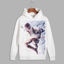 Аниме норагами Косплэй Ято принт пуловер с капюшоном толстовки Iki Hiyori унисекс Флисовые толстовки на осень