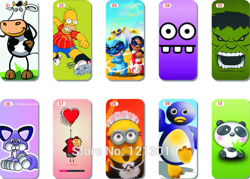 Cute Wallpapers For Iphone 4: 10pcs Hot Selling Super Cute Cartoon Wallpaper Style Hard