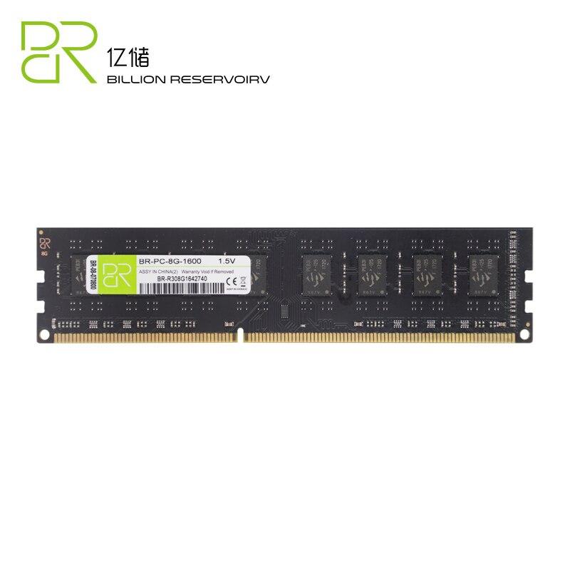 все цены на BR Brand New DDR3 8GB Memory 1600Mhz PC12800 240pin 1.5V Desktop Ram dimm