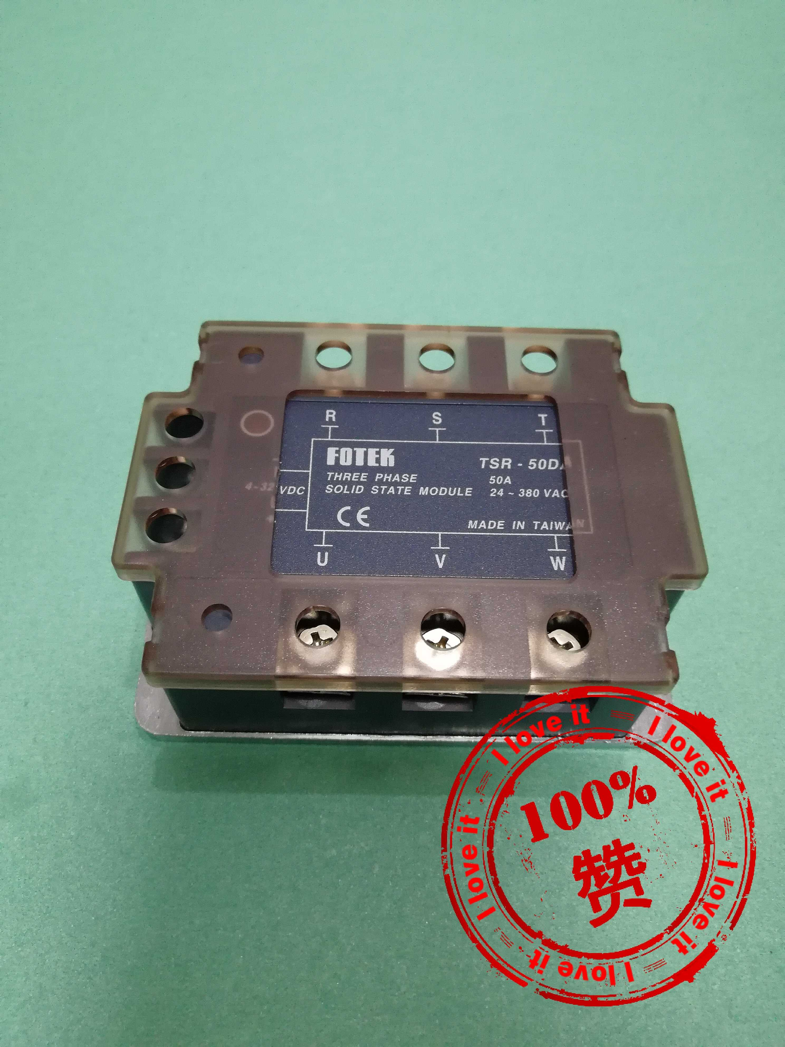 Three-phase Solid-state Relay TSR-50DA Fake One Penalty Ten
