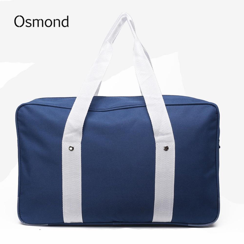 Bags for high school students - Osmond Japanese School Bag Women Shoulder Bag Handbag Oxford Solid Japan High School Student Bookbag Single