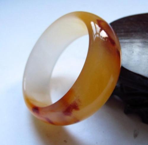 Koraba bijoux fins la mode Unique de la chine beau jaune et blanc, Bracelet Bracelet en Jade livraison gratuite