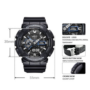 Image 2 - Casio Watch men G SHOCK top brand luxury set Waterproof diving Sport quartz Watch LED relogio digital g shock Military men watch