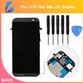 LL ТРЕЙДЕР 100% Испытанное Полный Замена Запчастей Для HTC One M8 Жк-Дисплей С Сенсорным Экраном с Рамкой Планшета Ассамблеи + Инструменты