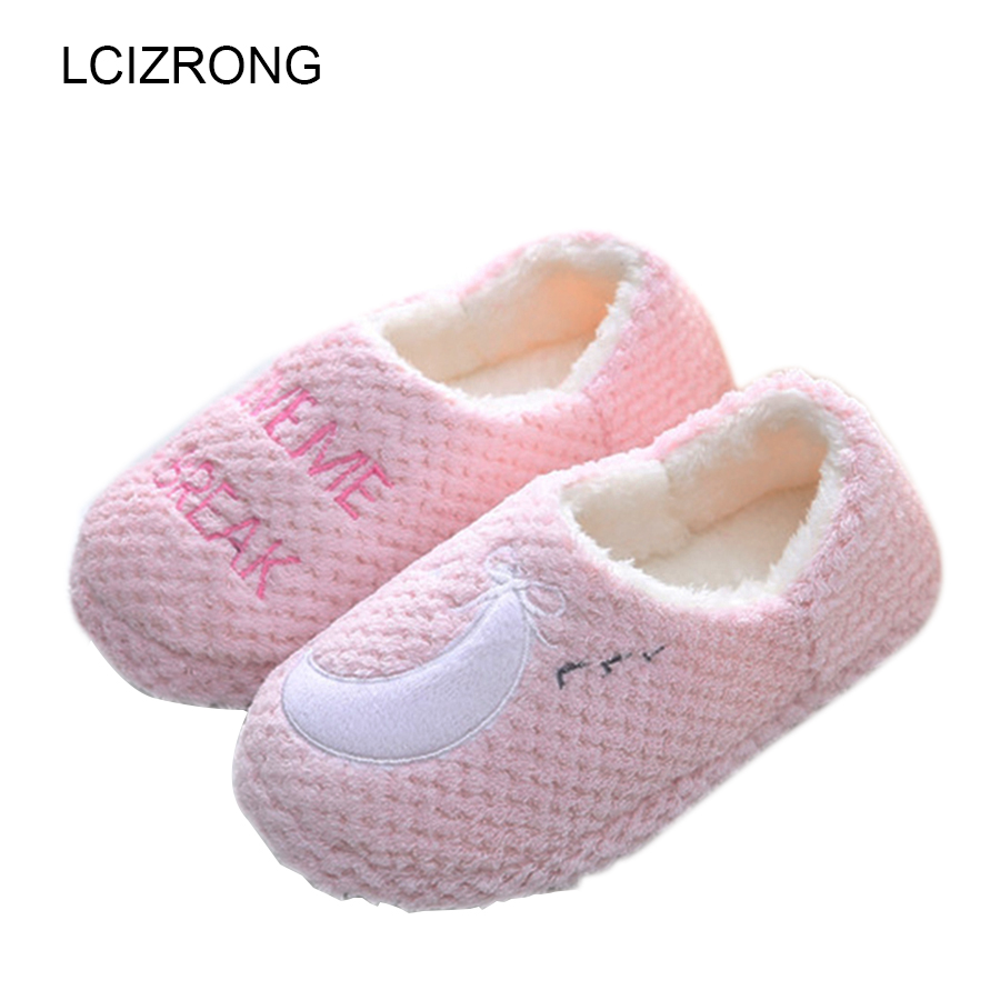 Women Large Size Slippers Plush Home Warm Slipper 8 Style Women Indoor Bedroom Rubber Soles Shoes House Lovers Cute Slippers b i m cute bowknot warm winter women home slippers for indoor house bedroom plush shoes soft bottom flats christmas gift z133