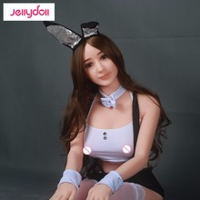 real full body silicone love sex doll 158 cm,Cute realistic big breast sex dolls,lifelike skin feel,smooth metal skeleton 02158